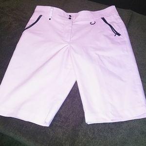 Pretty in Pink gg blue golf shorts